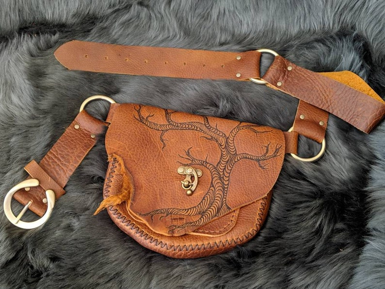Twisted tree festival belt  hip bag  fanny pack image 0