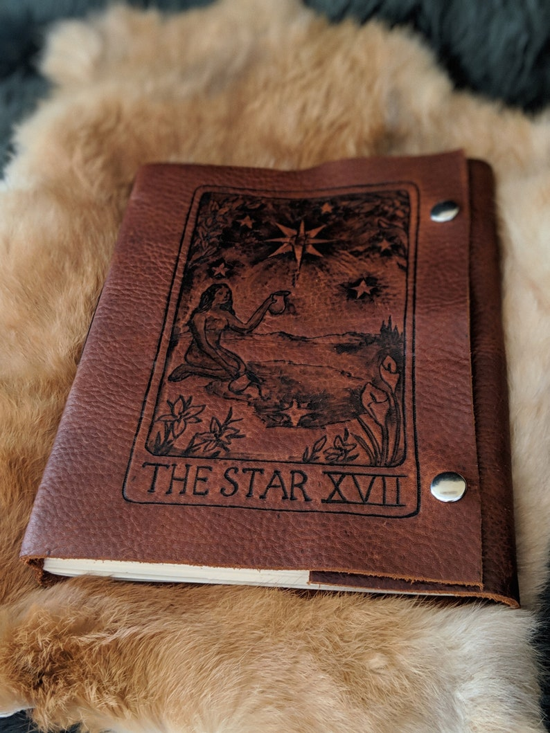Star Tarot Card Journal / Sketchbook / Diary / Scrapbook / image 0