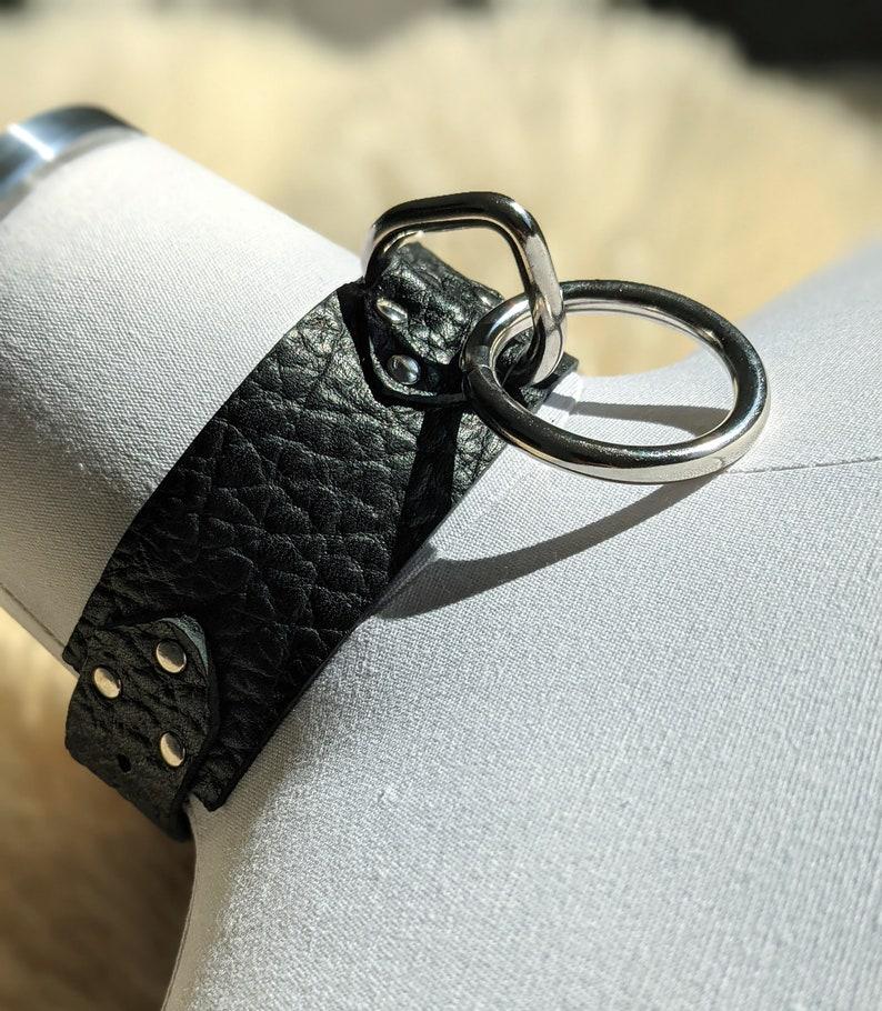 Dynamo Leather Choker  collar  image 0