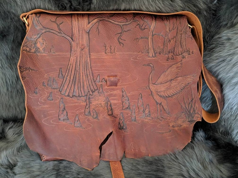 Bayou Swamp Messenger Bag image 0