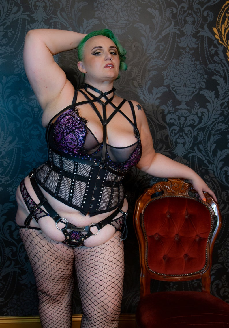 The Circe High Collar Harness image 0