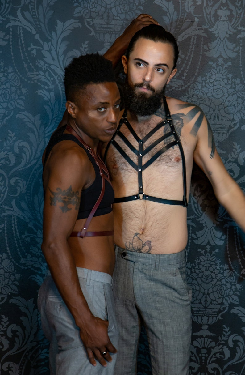 The Callisto Harness / Breastplate / BDSM Harness image 0
