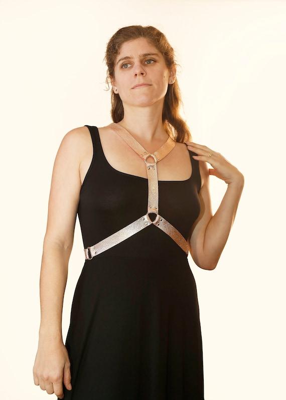 Rose Gold Selene Chest Harness