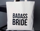 Badass Bride Tote Bag