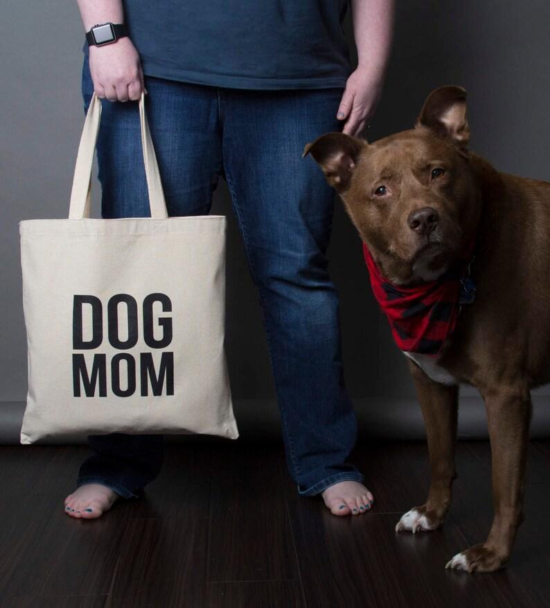 Dog Mom Tote Bag image 0