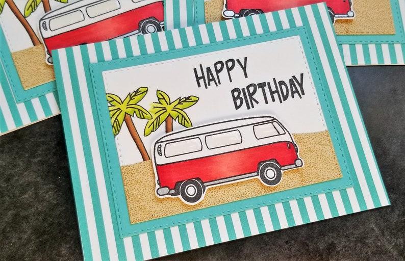 VW Bus Geburtstagskarte Volkswagen Liebhaber Karte VW | Etsy