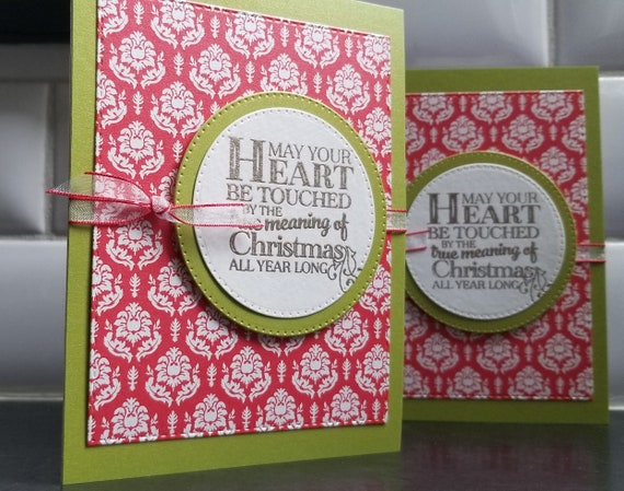 Christian Weihnachtskarten Set 2 wahre Bedeutung von | Etsy