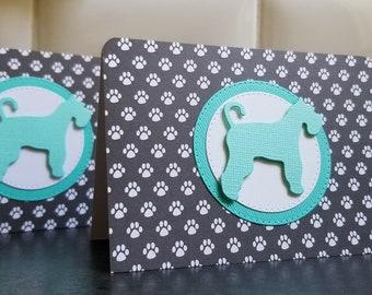 Schnauzer Dog Sympathy Card, Pet Condolences, Pet Sympathy, Dog Loss, Animal Loss Greeting Card, Pet Loss Card