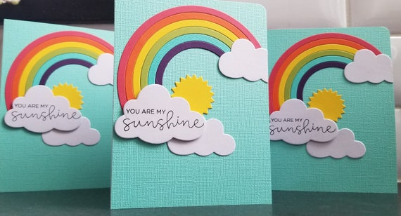 Letter Writing Pride Love and Sunshine Rainbow Greeting Card Stationery Birthday Card Valentine/'s Day Card Sunshine