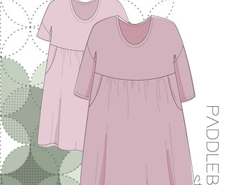 The Carson Dress PDF Pattern Sizes XS-XXL - Now Updated!