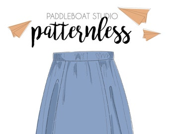 PATTERNLESS Nichols Skirt PDF Pattern || One Size
