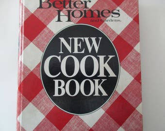 80s vintage book-Better Homes and Garden New Cook Book