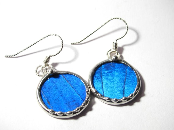 Real Blue Morpho Butterfly Jewelry
