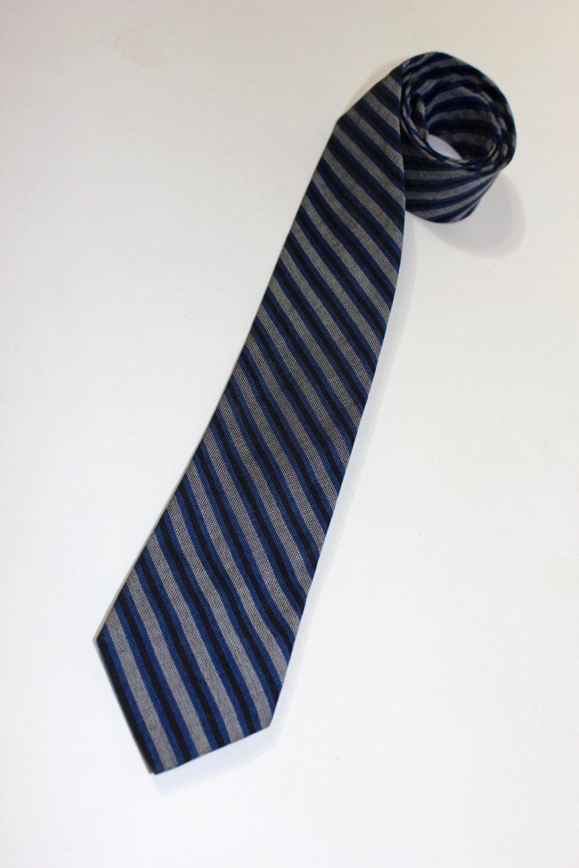 d0eadcf999 Vintage 1960's Superba Narrow neck tie. Cotton. Diagonal | Etsy
