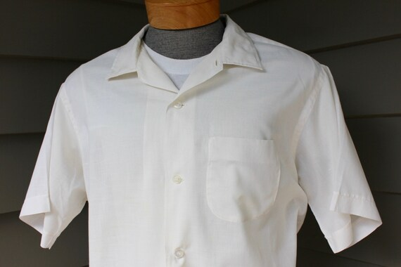 aafa269c6a9 vintage 1950 s Brewster Men s short sleeve shirt.
