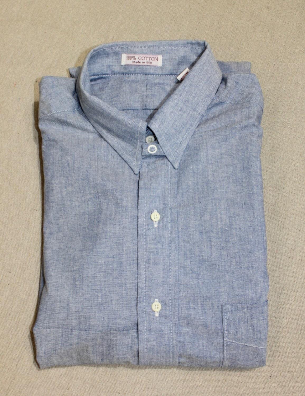 Vintage 80s Style Craft Mens Tab Collar Dress Etsy