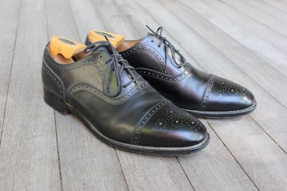 1aa555b9d1b Vintage Brooks Brothers Medallion Captoe oxford shoes. Peal