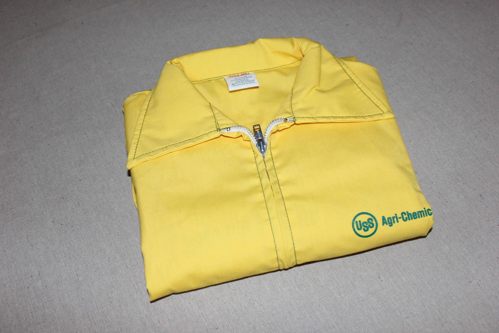 1960s – 70s Men's Ties | Skinny Ties, Slim Ties Vintage 1960s -Capn Jac- Mens Windbreaker Jacket. New Old Stock. Uss Agri-Chemical - Hybrid Seed Corn Advertising. Medium $59.79 AT vintagedancer.com