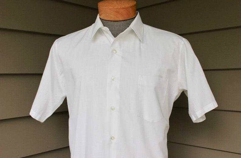 bcd61ea9f Vintage 1960's Manhattan Men's short sleeve dress | Etsy