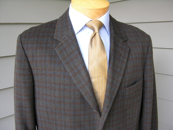 vintage 50's - 60's Men's Custom Made sport coat.