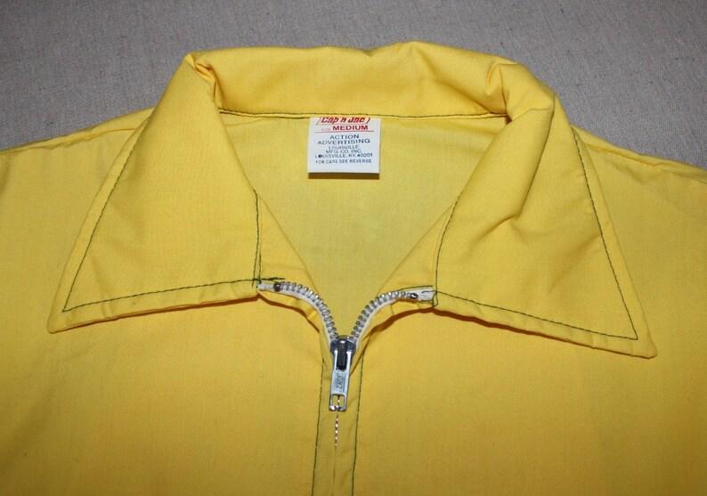 Medium. /'New Old Stock/' vintage 1960/'s -Cap/'n Jac- Men/'s windbreaker jacket Hybrid Seed Corn advertising USS Agri-Chemical