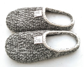 Crochet-Knit Slipper-Clogs - crochet pattern DIY - Instant Download Pdf
