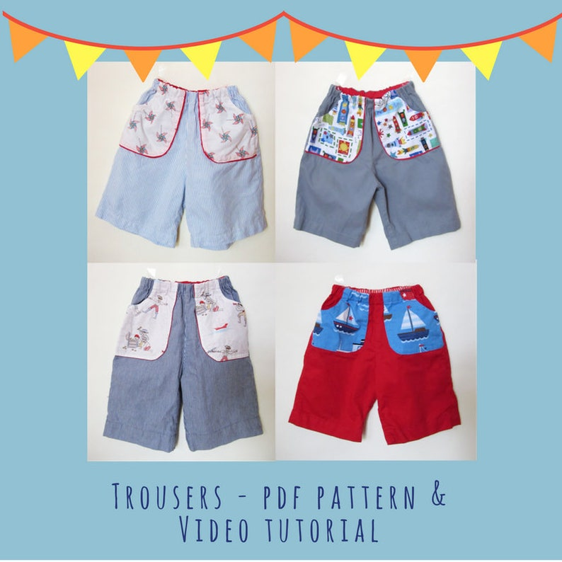 Trouser  PDF Pattern and Video Tutorial image 0