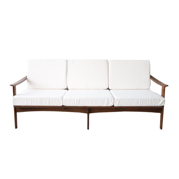 Tremendous Vintage Mid Century Modern White Daybed Sofa Cjindustries Chair Design For Home Cjindustriesco