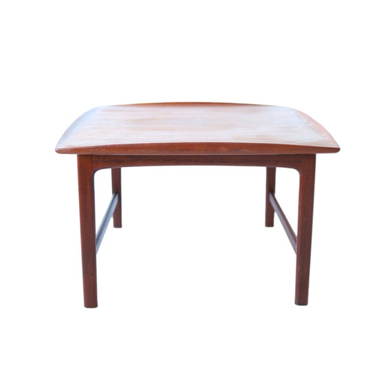 Vintage Mid Century Modern Square Table By Dux Made In Etsy