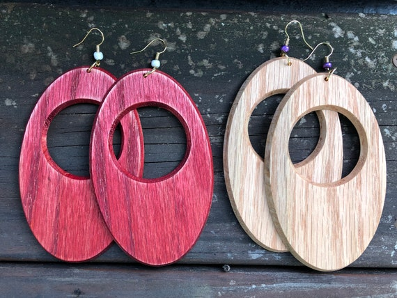 Big Red Oak Simple Shapes Earrings