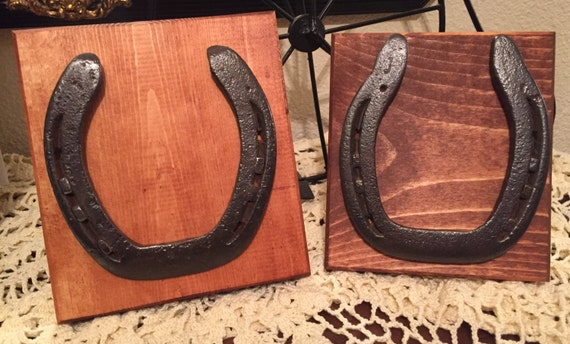 upcycled horseshoe frames