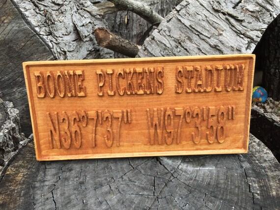 Boone Pickens Stadium GPS coordinates OSU Cowboys