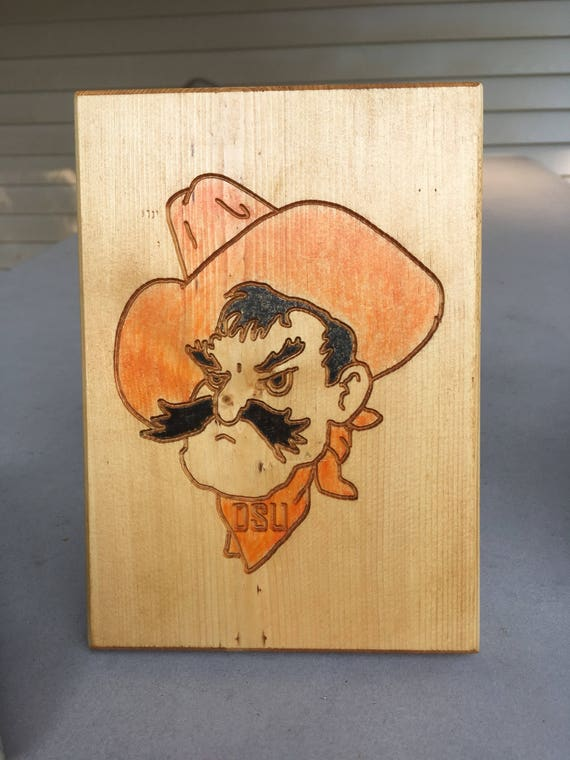 Colorful Pistol Pete (head shot)