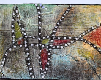The Tangled Web - Original ACEO - Acrylic