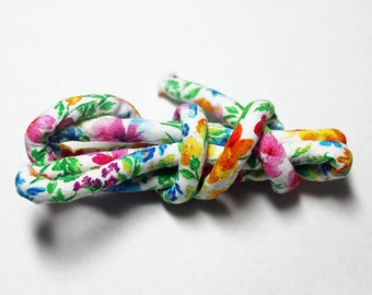 Fabric cord, fabric rope, textile cord, craft cord, diy jewelry, fabric necklace, mc701