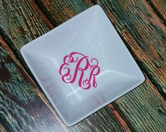 Personalized ring dish, bride gift, engagement gift, personalized gift