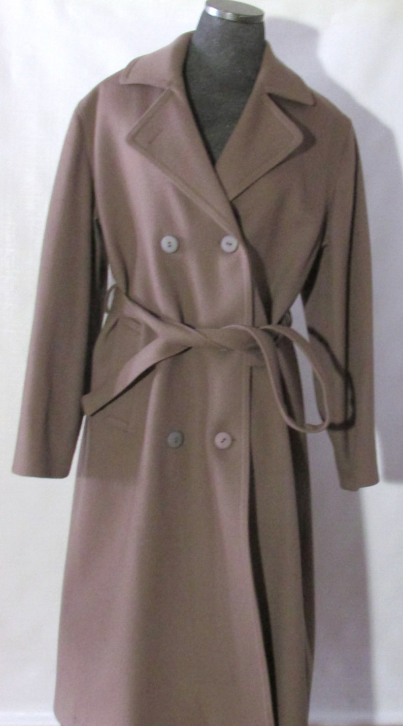 e26a5da1c Vintage Ladies LONDON FOG Wool Over Coat, Winter Coat, Size 14, Made in  CANADA, Kingston Cloth Shell, Lined, All Weather Coat