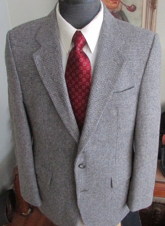 Vintage Mens Tweed Jacket ,Mens Tweed Blazer, Mens