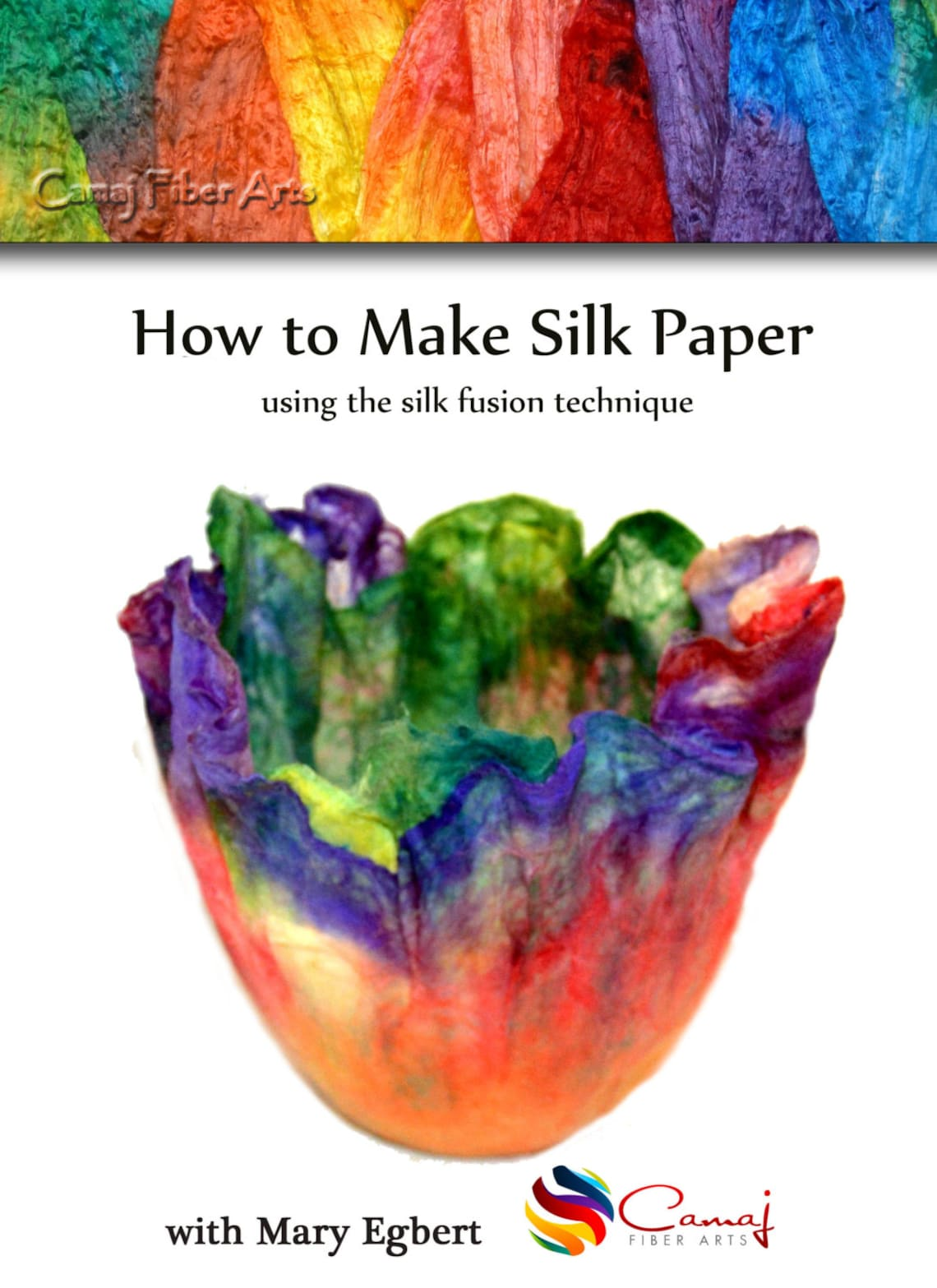 How to make silk paper using the silk fusion technique  Camaj image 0