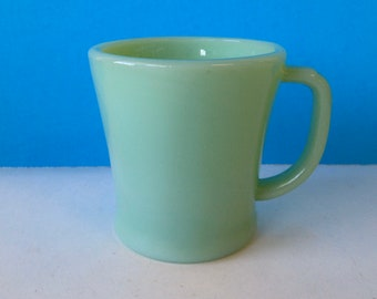 Flat handle mug | Etsy