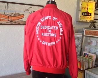 9f2e68122 Vintage Embroidered KKOA Car Club Jacket