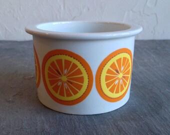 Arabia Pomona Jam Jar Orange Slices