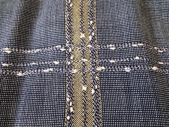 Vintage Long Sleeve Arrow Loop Collar Shirt - image 4