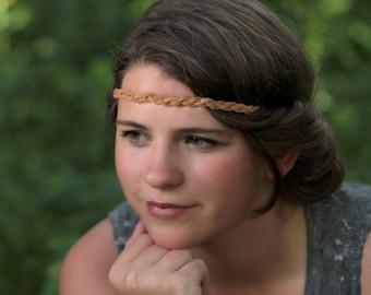 Leather Bohemian Headband