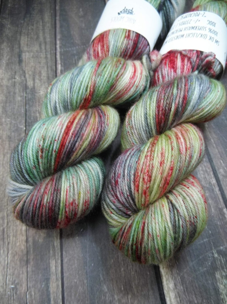 PREORDER Z-pocalypse Fingering Basic Sock Yarn Superwash image 0