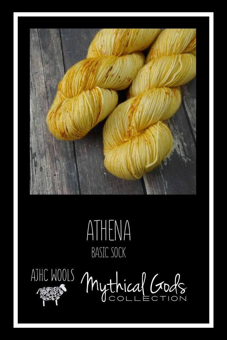 RTS Athena Mythical Gods Collection Basic Sock Fingering image 0