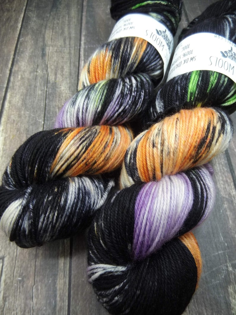RTS Lifes A Witch Fingering Basic Sock Yarn Superwash Merino Basic Sock