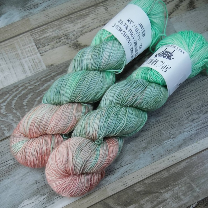 RTS Brilliant Sultry Single Fingering Weight Yarn Pastel image 0