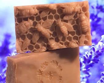 Warm Cedar Honey and Beeswax Soap