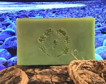 Smooth Green Tea Honey and Beeswax Soap